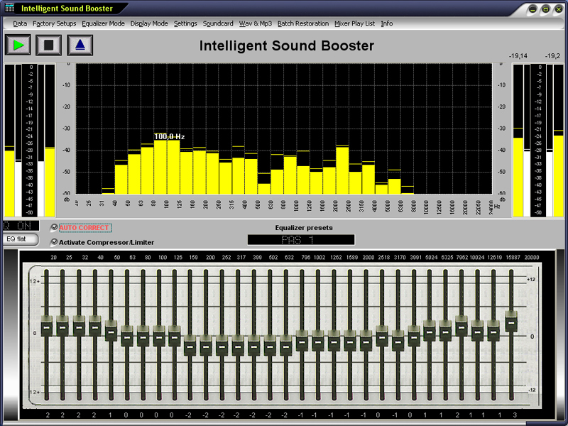 Intelligent Sound Booster correctautomaticaly